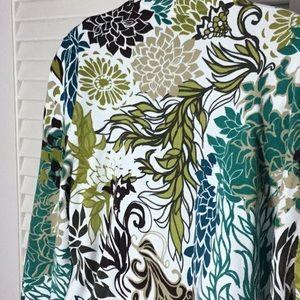 CJ Banks Sweaters - Multi colored cardigan